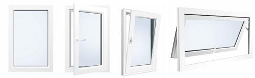 окно одностворчатое